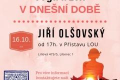 Přednáška Jóga a zen v dnešní době 16_10_2018